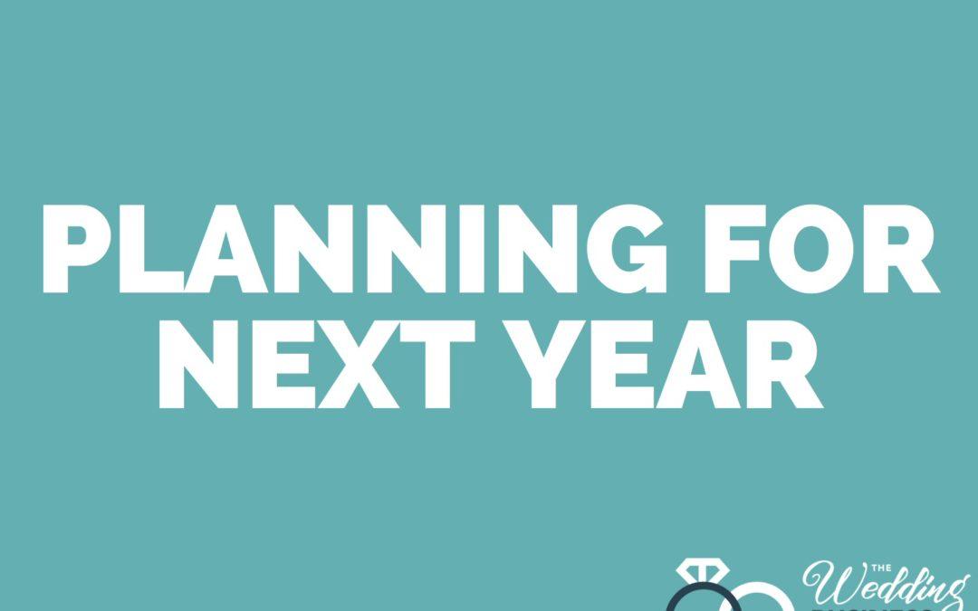 Planning For 2021 Workshop